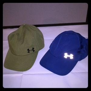 2 Under Armour Baseball Hats
